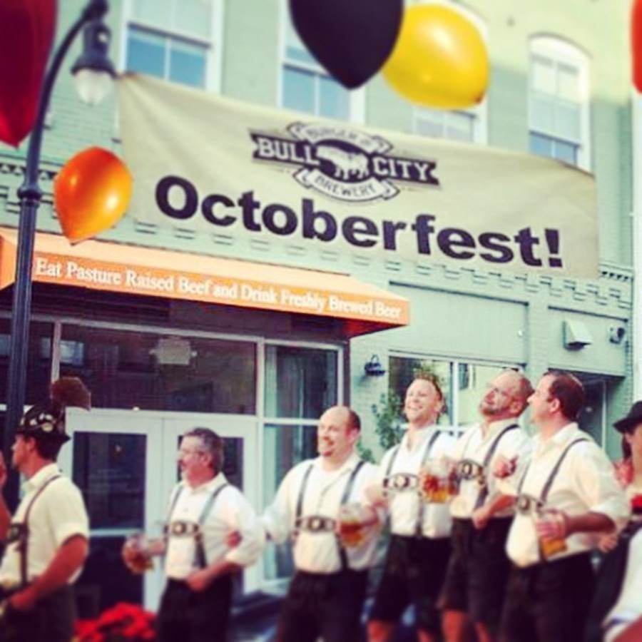 Dance & Drink with BCBB for Octoberfest Bull City Burger and Brewery