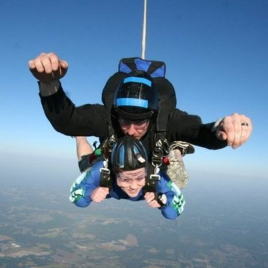 Jessica Rich's photo of Jump Out of a Plane at Triangle Skydiving Center