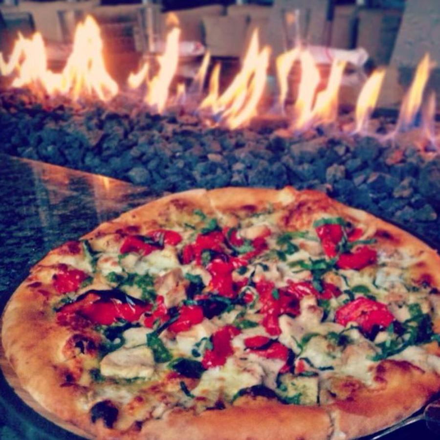 Fireside Dining in the Heart of Downtown  at Jimmy V's Osteria + Bar
