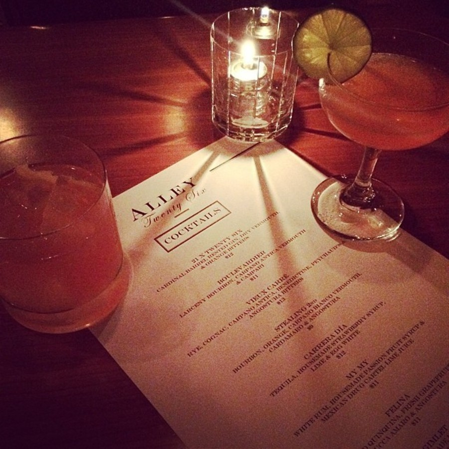 Relish a Cocktail at Alley Twenty Six at Alley Twenty Six
