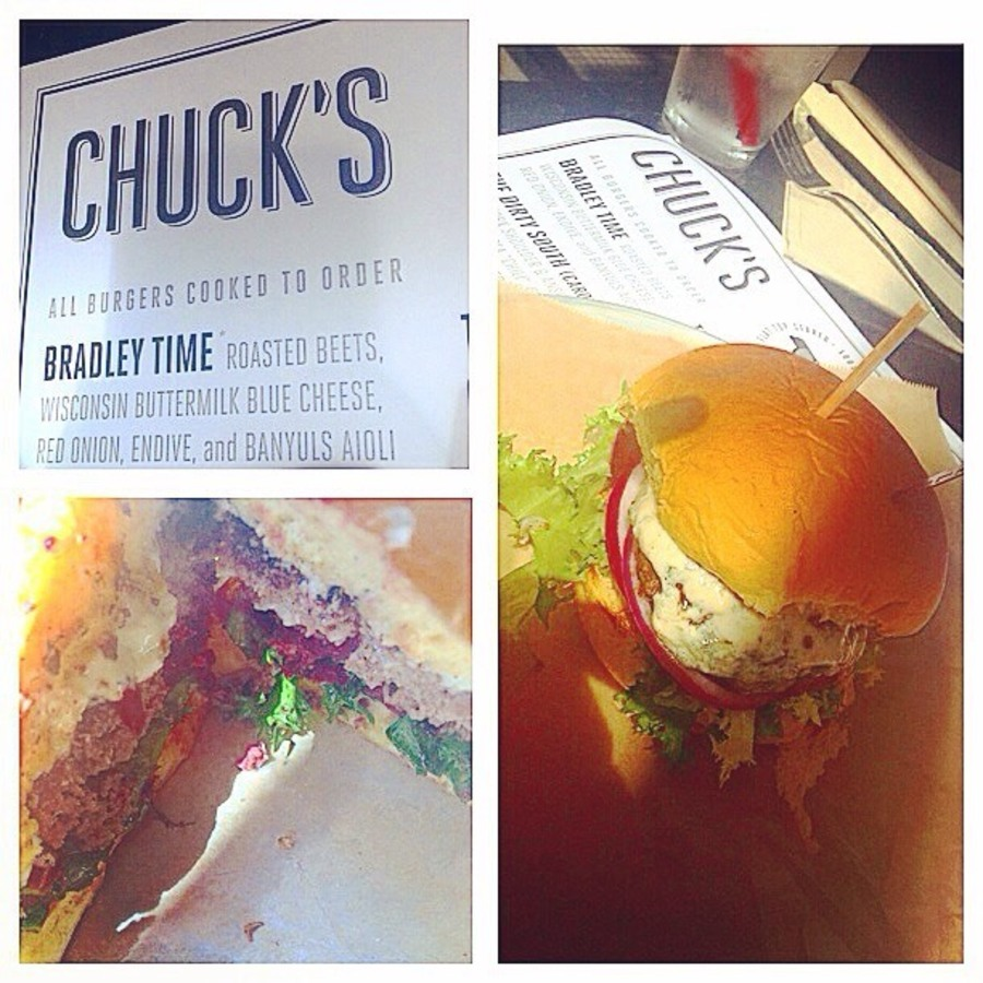 Stephanie Sdionne Smith's photo of Savor Classy Burgers and Pomme Frites at Chuck's