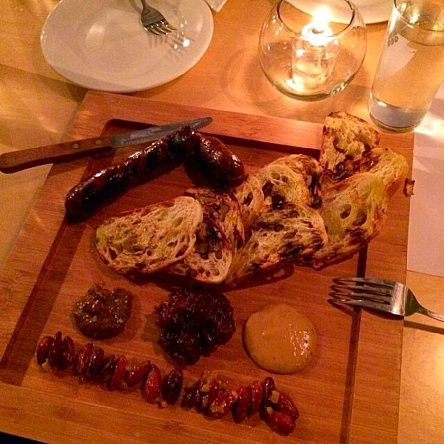 Ryan C.'s photo of Enjoy Raleigh's Most Stylish Dining Experience at Garland