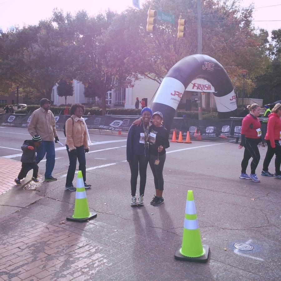 Shaneisa Davis's photo of Run the City of Oaks Marathon