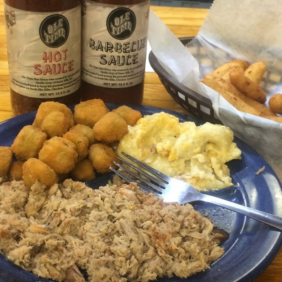 Stray Off the Beaten Path for Some Down-Home NC BBQ at Ole Time Barbecue