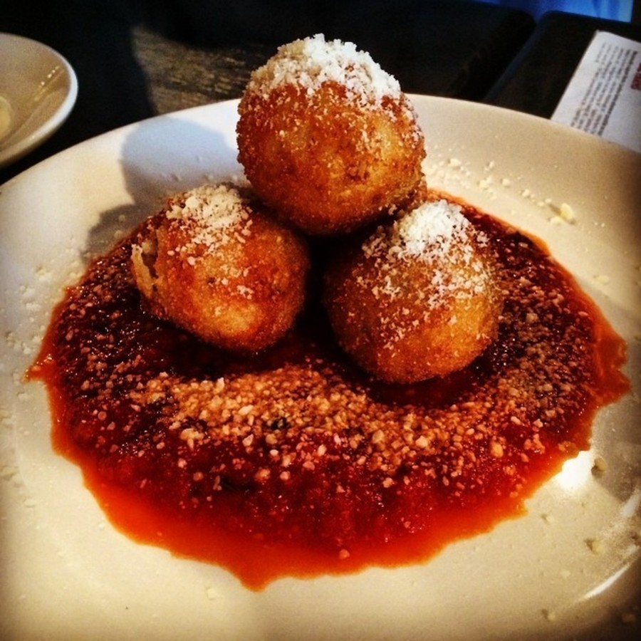 Mallory DM's photo of Get Risotto Cakes at Gravy