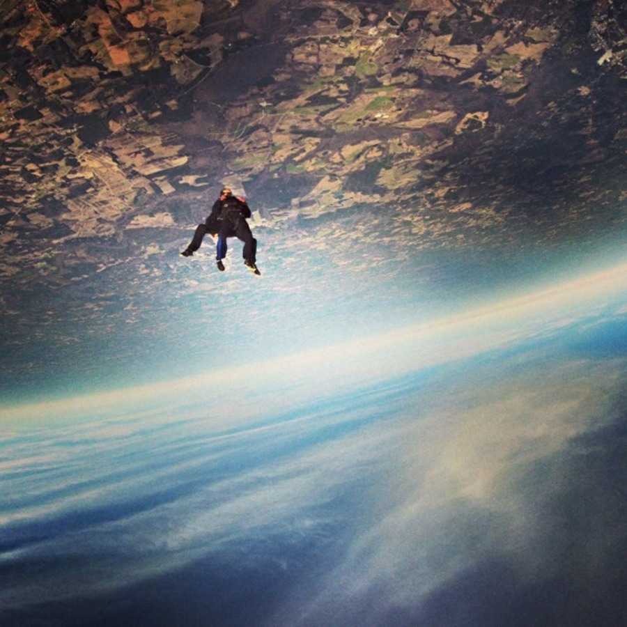 Brent Piephoff's photo of Jump Out of a Plane at Triangle Skydiving Center