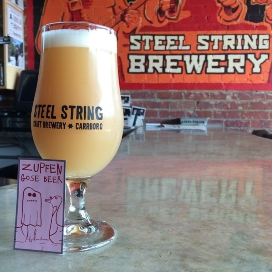 Sip on Craft Brew at Steel String at Steel String Brewery