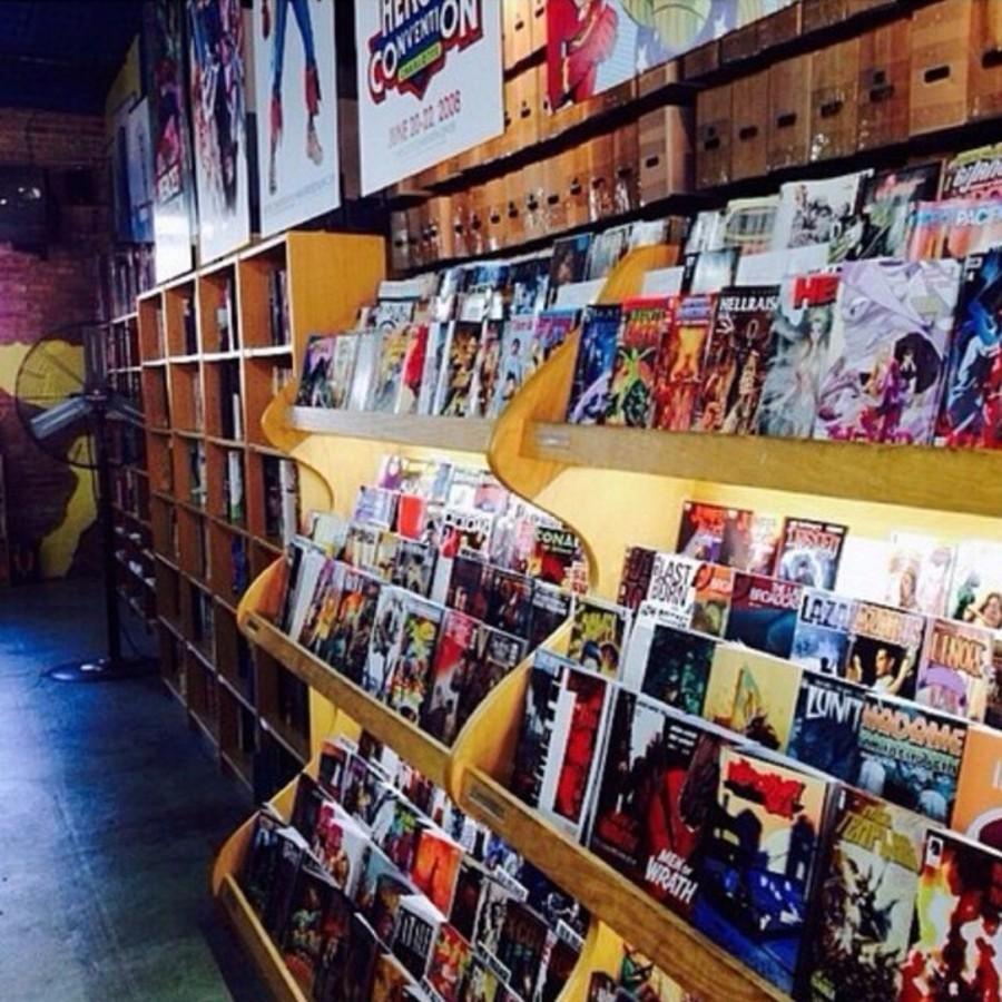 Grab a Graphic Novel at Heroes