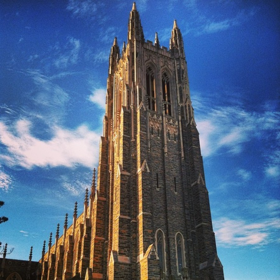 Heaven on Earth: Duke University Chapel Tour at Duke University Chapel