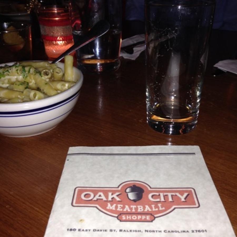 Capen Rhew's photo of Get Yo'self Some Balls at Oak City Meatball Shoppe