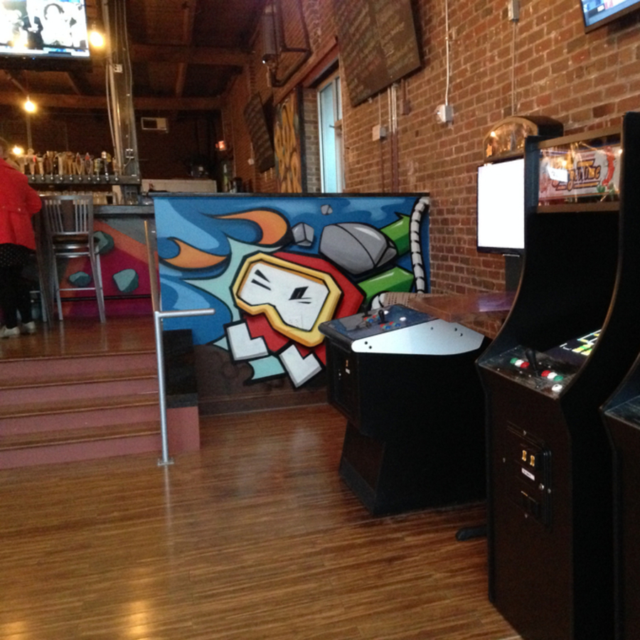 Jessica Rich's photo of Enjoy Pac-Man and a Pint at Boxcar