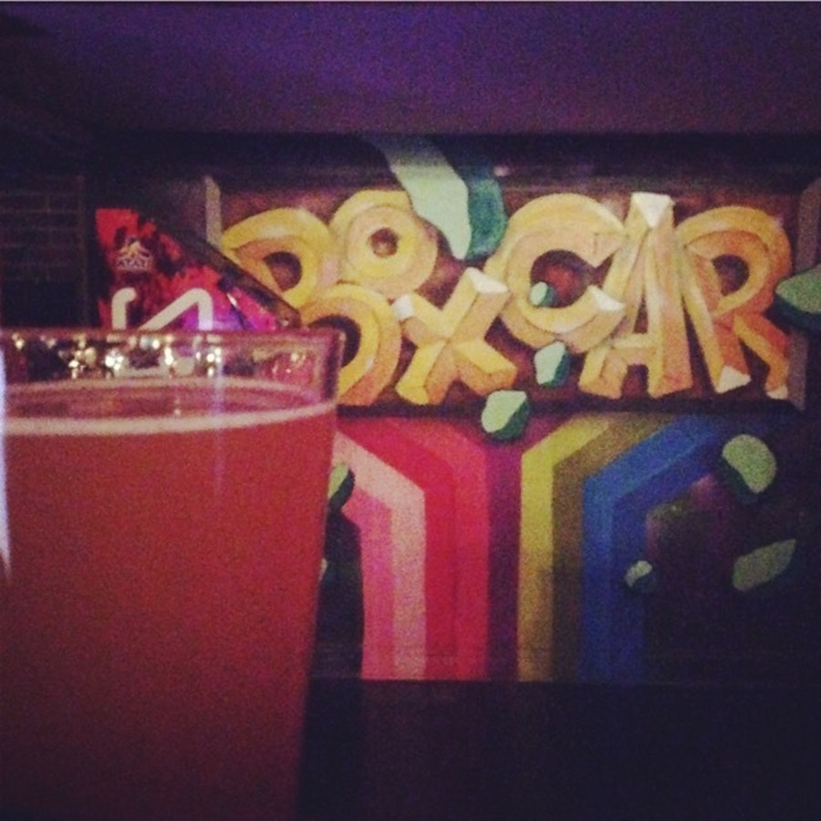 Mallory DM's photo of Enjoy Pac-Man and a Pint at Boxcar