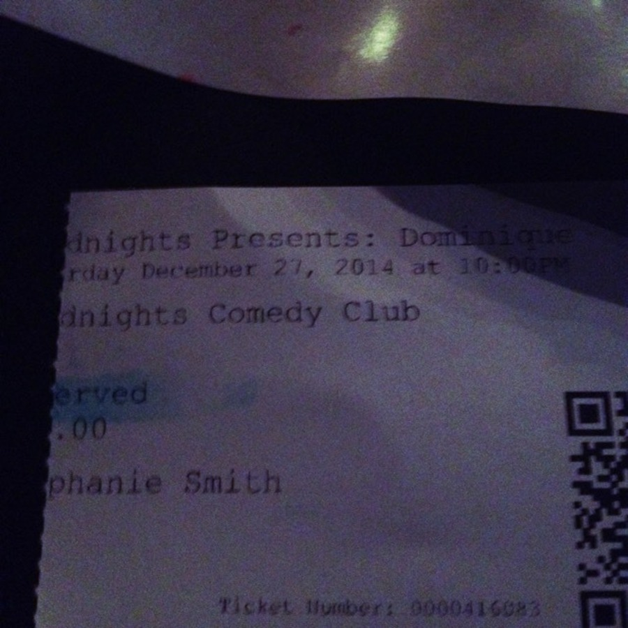 Stephanie Sdionne Smith's photo of Enjoy a Hearty Laugh at Goodnights Comedy Club