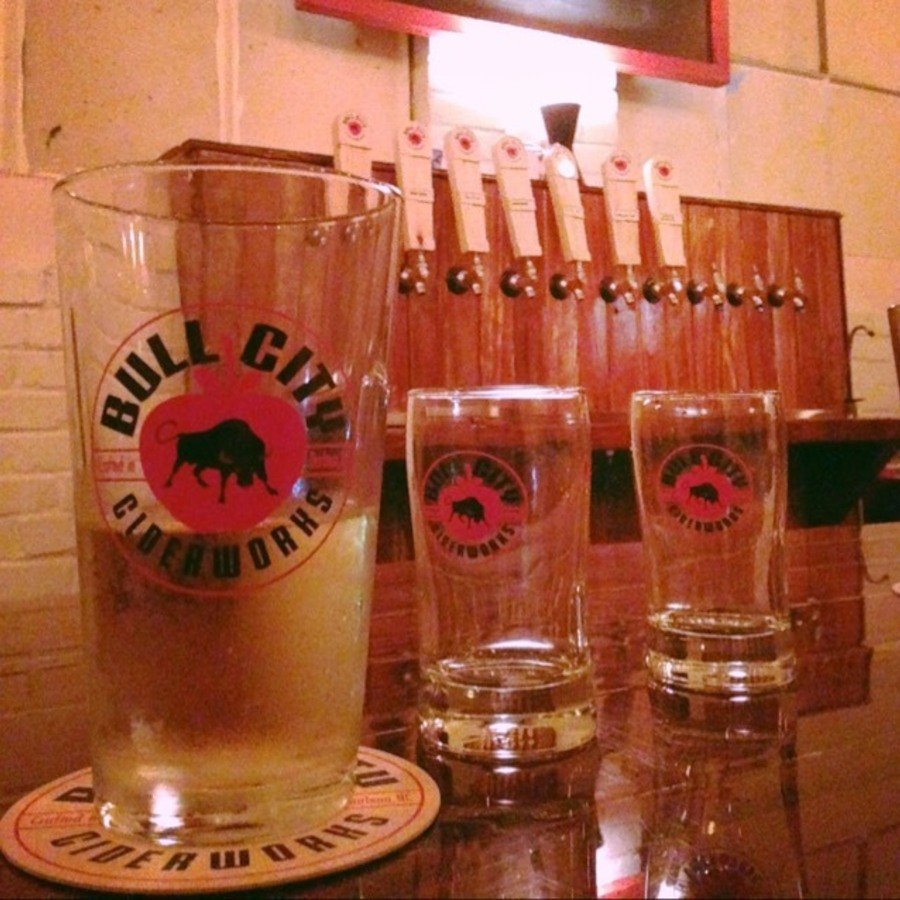 Corinne Nilsen's photo of Enjoy Crisp Sips at Bull City Ciderworks