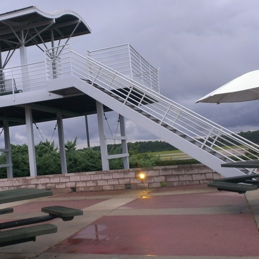 Tara Stoffer's photo of Be an Avid Planespotter at the RDU Airport Observation Park