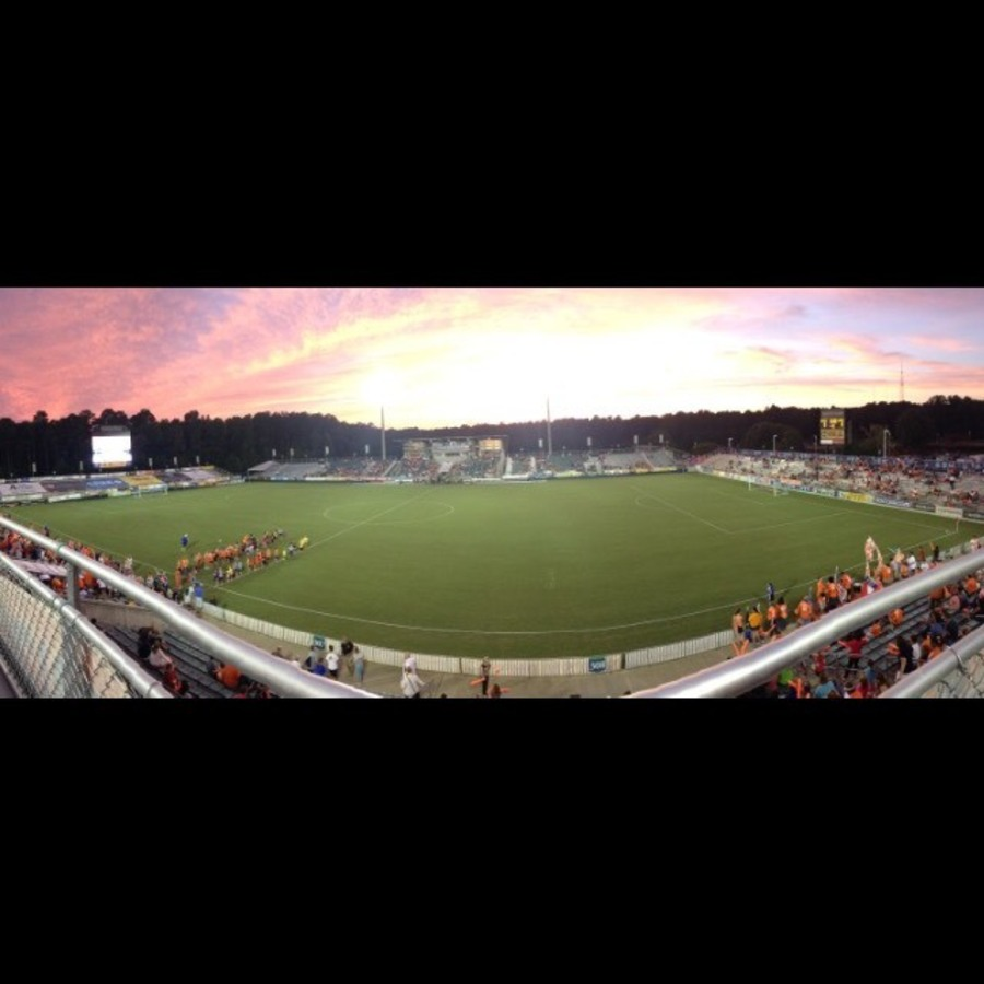 Trenton Walker's photo of Cheer for the North Carolina FC