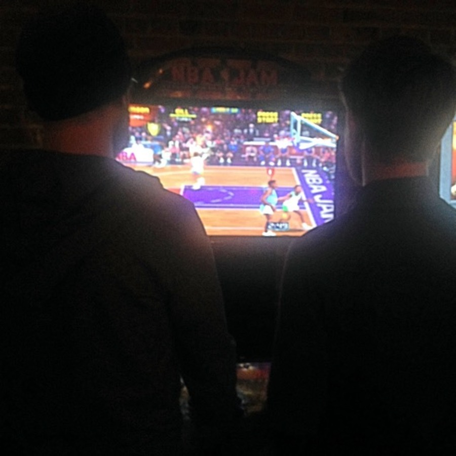 Lauren Hilgers Pritchett's photo of Enjoy Pac-Man and a Pint at Boxcar