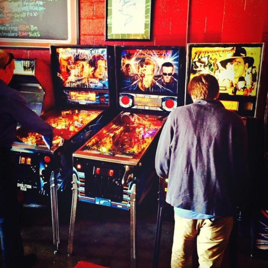 Go Nerd Chic at The Baxter Bar & Arcade at The Baxter Bar & Arcade