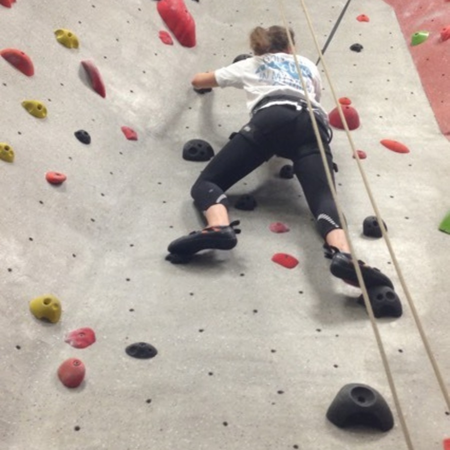 Kelsey Van's photo of Take a Rock Climbing Class at TRC