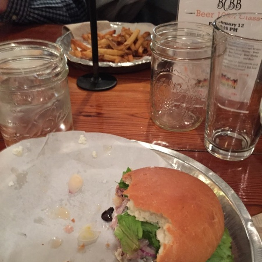 Alex Basinger's photo of Chow Down at Bull City Burger and Brewery