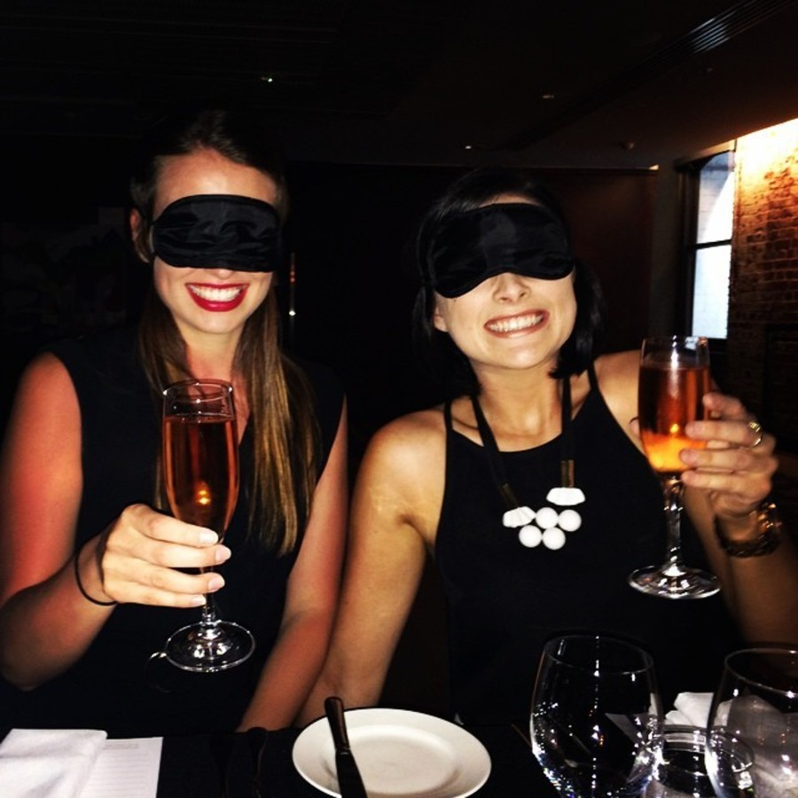 Wine & Dine in the Dark: Dining in the Dark at Heirloom Heirloom Restaurant
