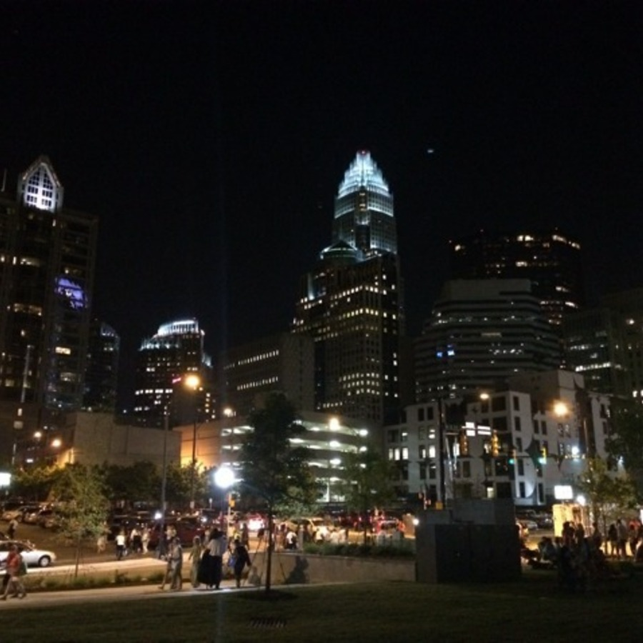 Amy Claire Miller's photo of Enjoy an Alternative View of the City in Romare Bearden Park