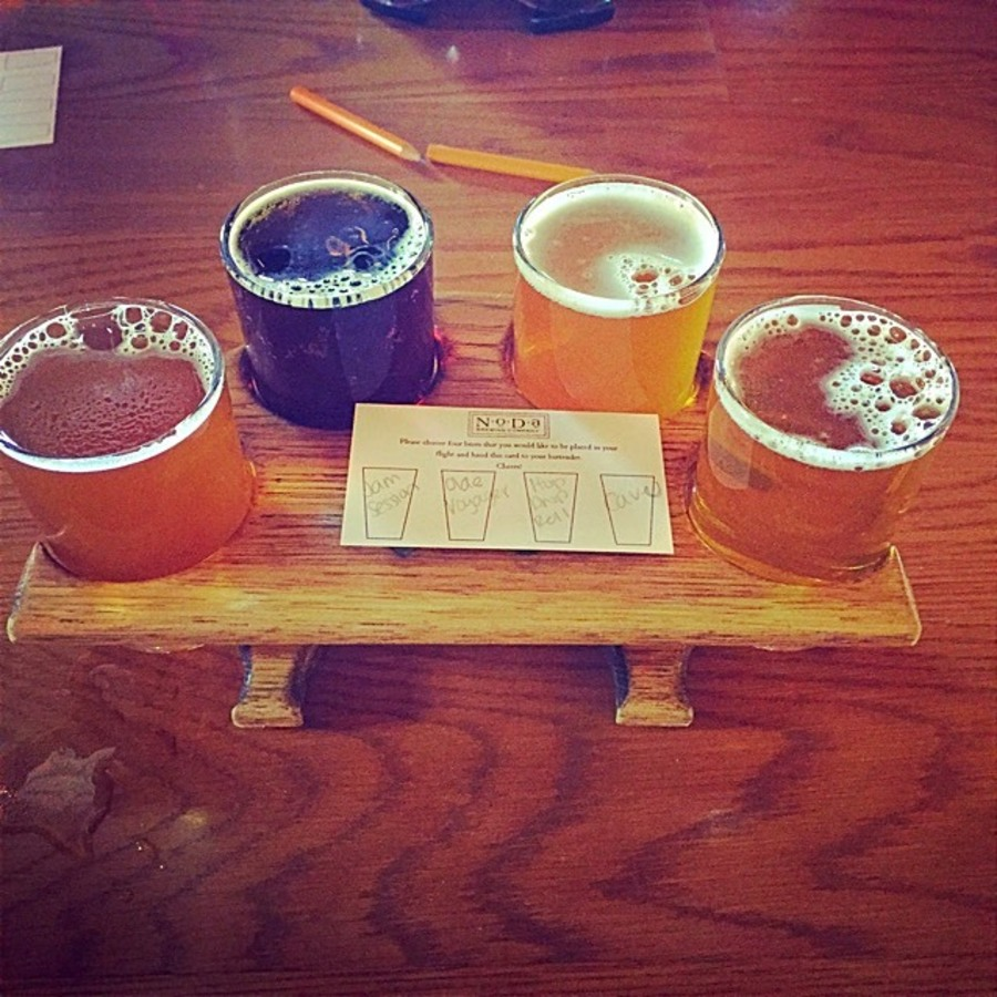 Lindsay Lightmas's photo of Guzzle Great Brews at NoDa Brewing Co.