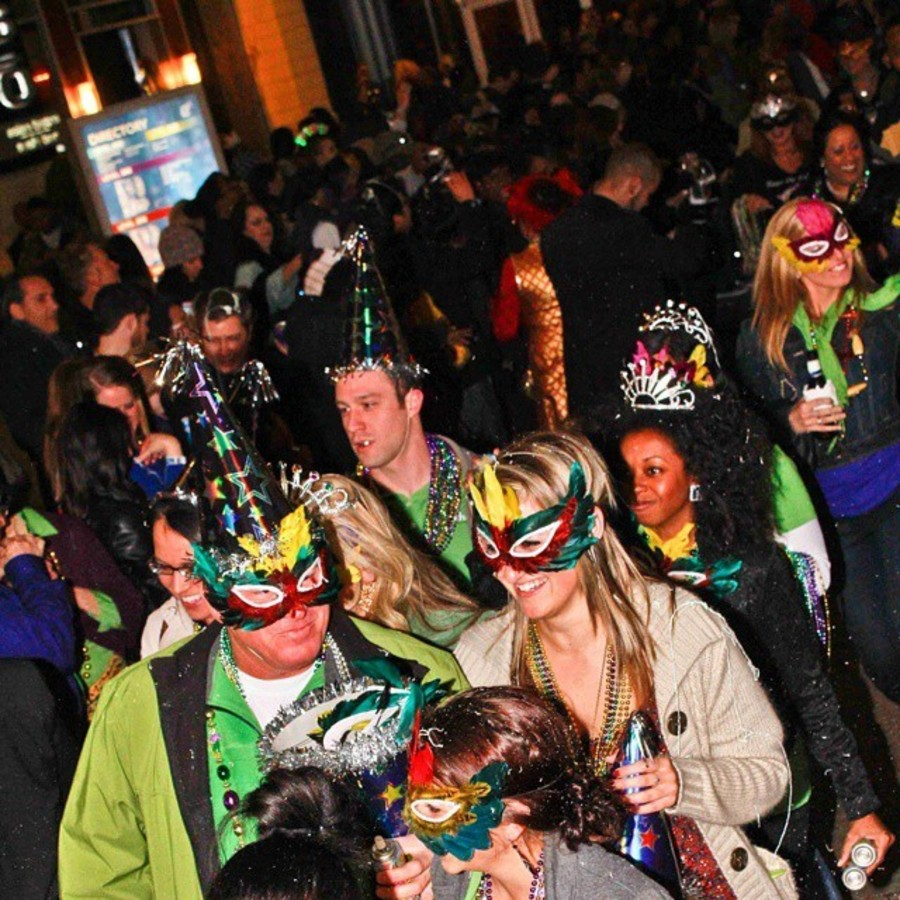 Parade Your Beads at Uptown's Mardi Gras Mayhem at EpiCentre
