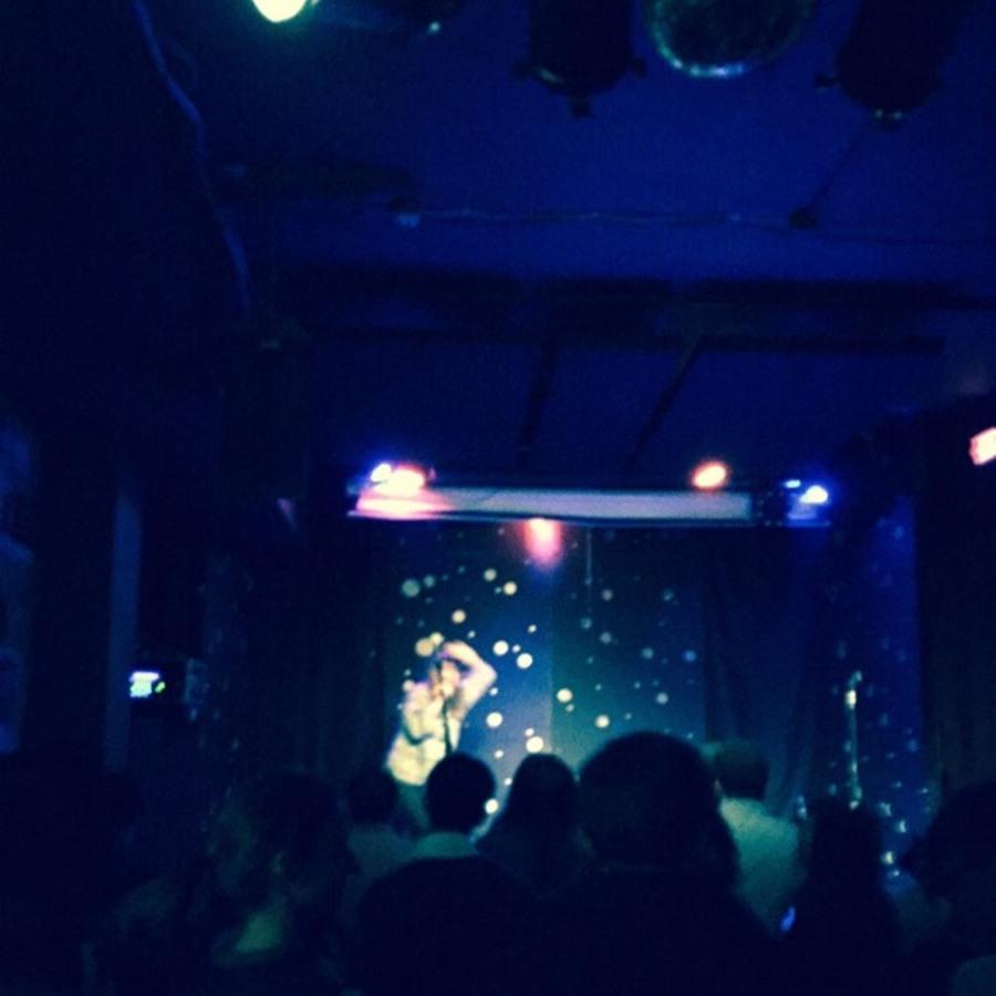 Adrienne Liège Harreveld's photo of Stelth Ulvang (the Lumineers) Performing at Pinhook
