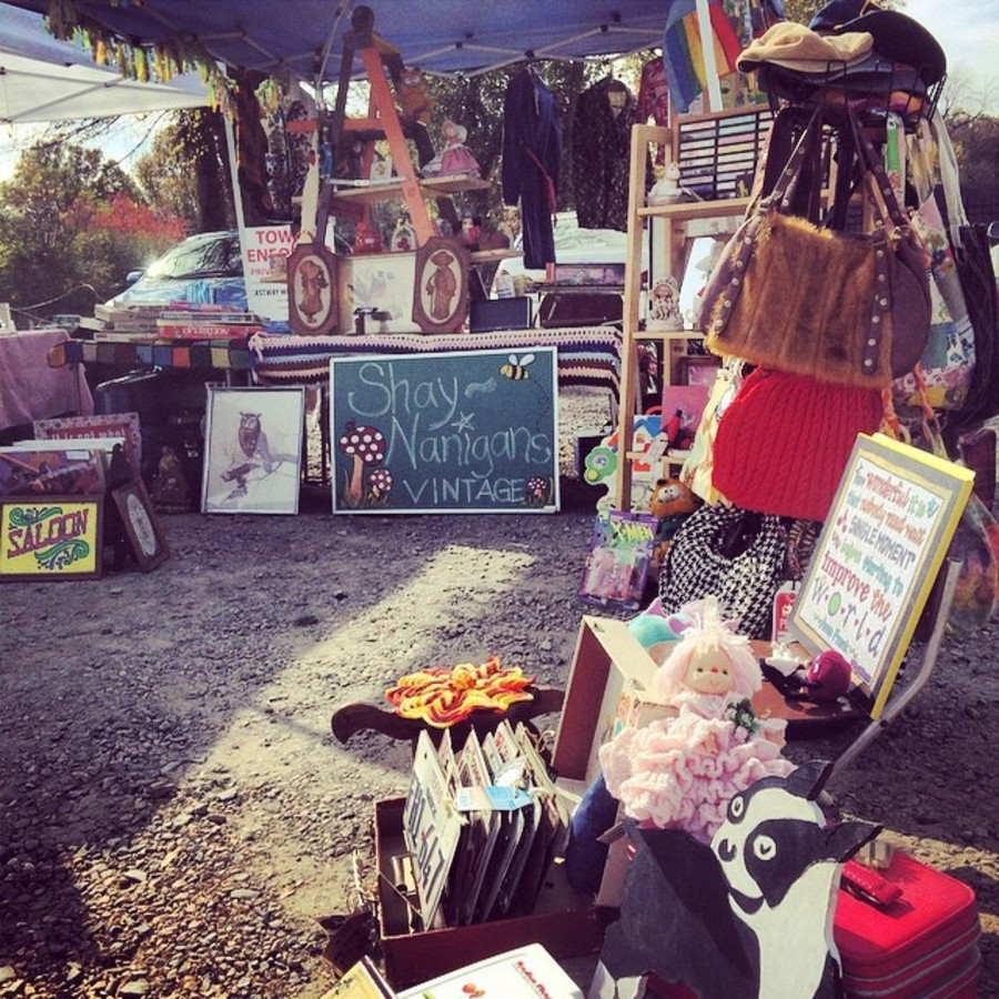 Local Art & Weirdness at the NoDa Eclectic Market at Pure Pizza