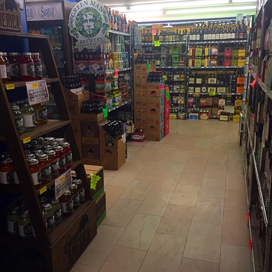 Elizabeth Brown's photo of Find Beer Heaven at Sam's Quik Shop