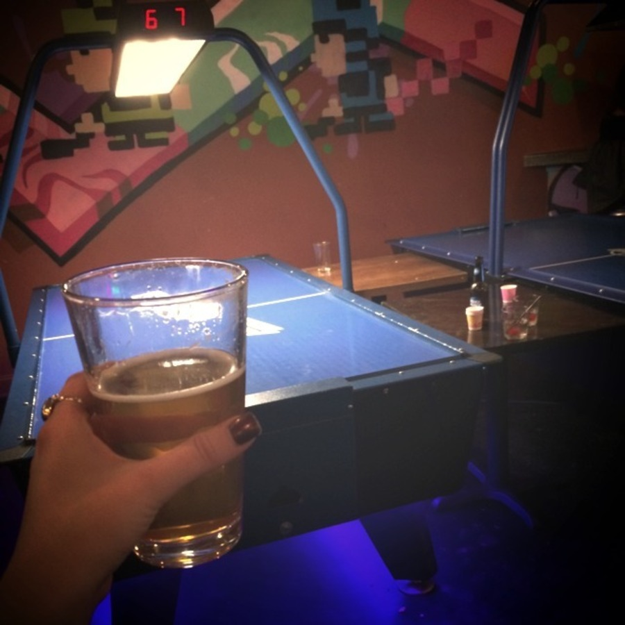 Timbre Backen's photo of Enjoy Pac-Man and a Pint at Boxcar