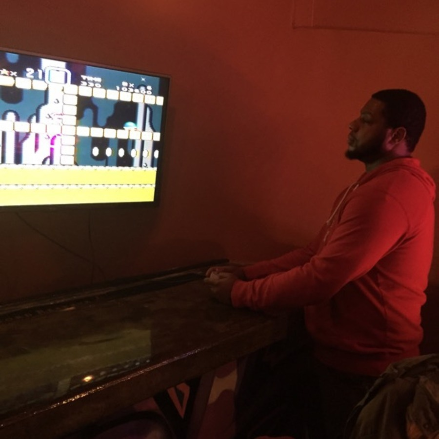 Sharese Hardaway's photo of Enjoy Pac-Man and a Pint at Boxcar