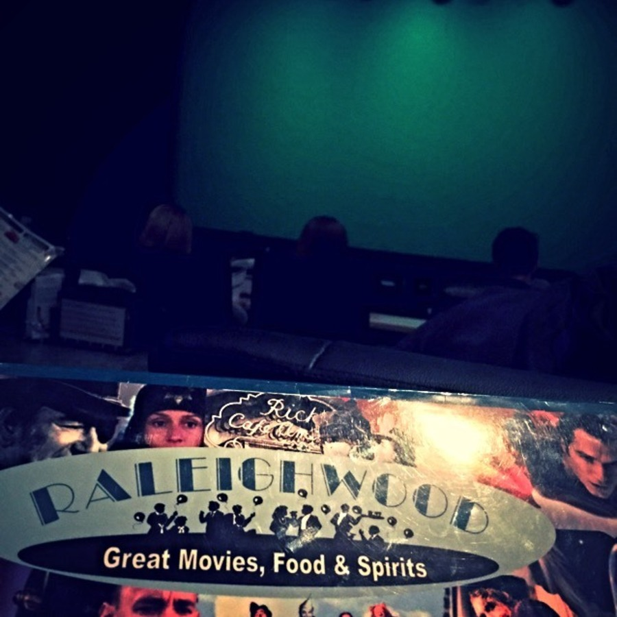 Nathan Joseph's photo of Dinner & a Movie at Raleighwood Theater