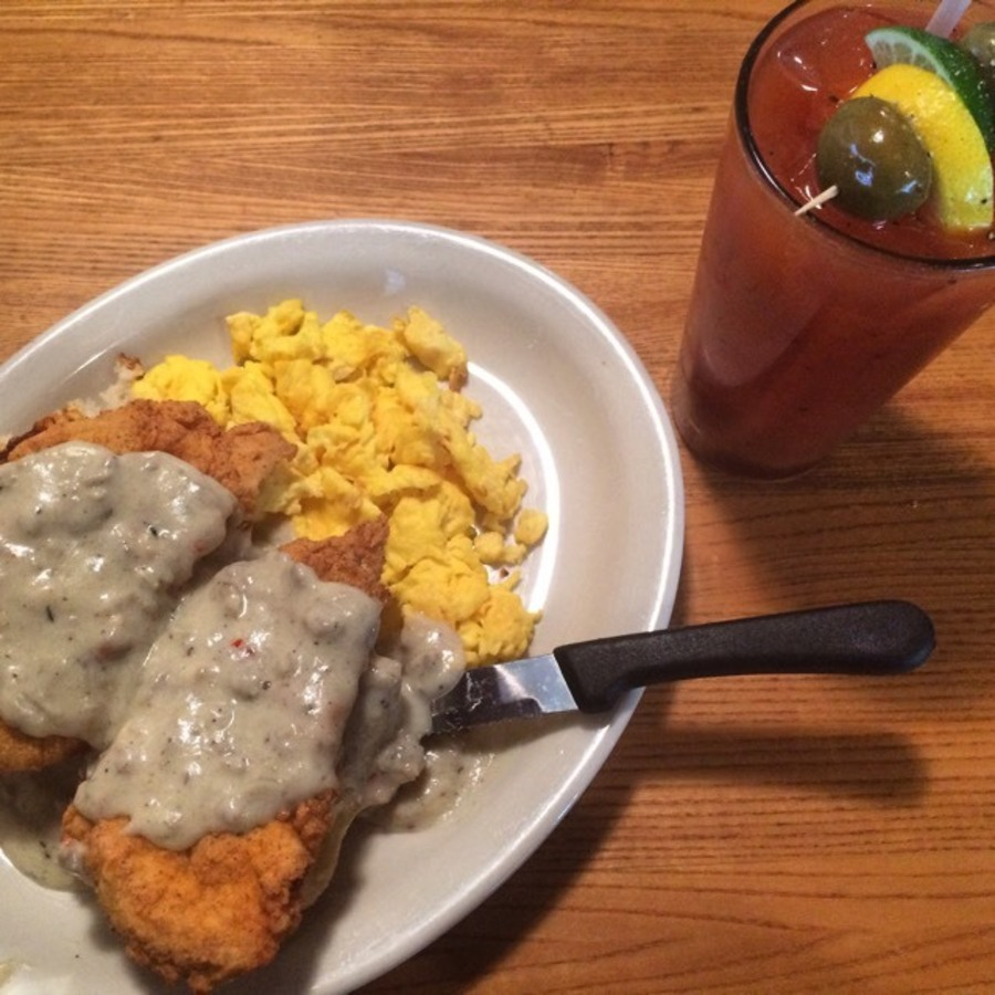 Catherine Vermillion's photo of Come for the Brunch and Stay for the Dinner at Eddie's Place