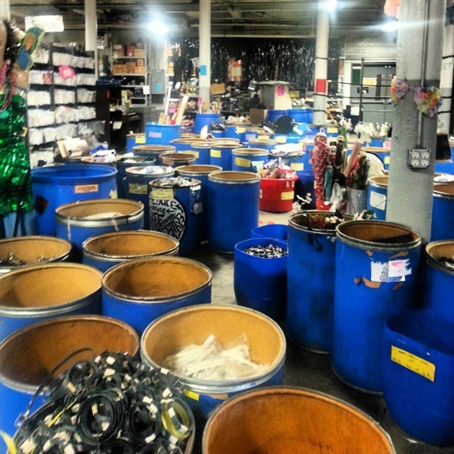 Scavenge the Shelves and Barrels of The Scrap Exchange at The Scrap Exchange