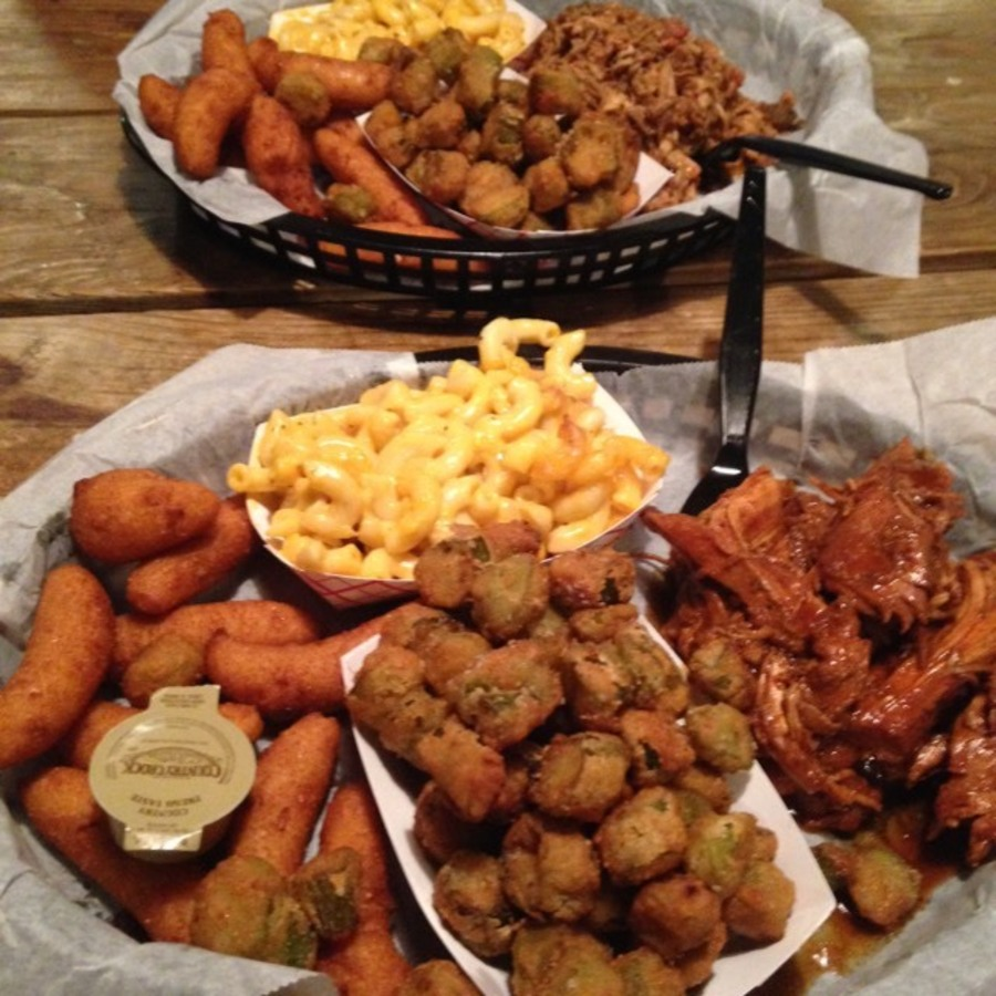 Brianna Teapole's photo of Binge on Blissful BBQ at the Q Shack