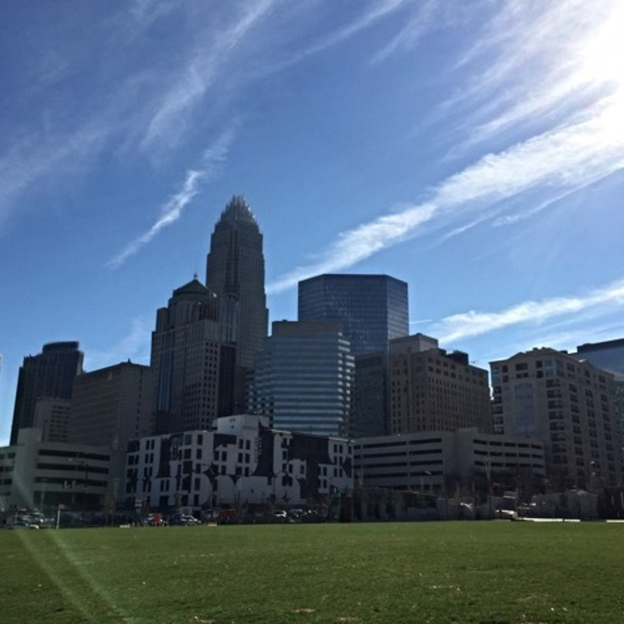 Melanie Bamberg's photo of Enjoy an Alternative View of the City in Romare Bearden Park