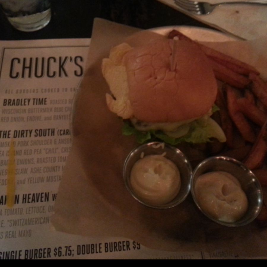 Beth Eaves's photo of Savor Classy Burgers and Pomme Frites at Chuck's