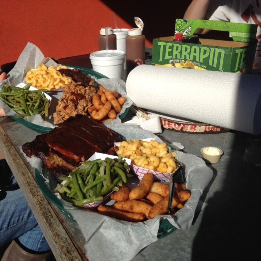 Eileen Rose's photo of Binge on Blissful BBQ at the Q Shack