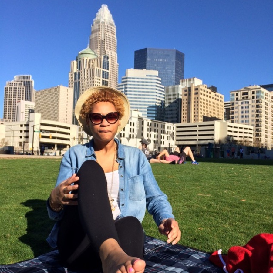Antoinette Harrison's photo of Enjoy an Alternative View of the City in Romare Bearden Park