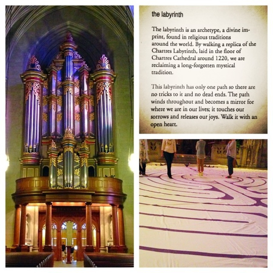 Julia Martens's photo of Wind Your Way Through The Labyrinth at Duke Chapel