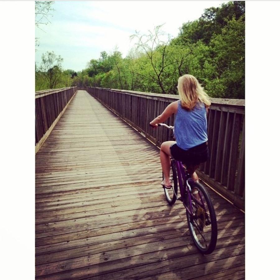 Megan Shiflett's photo of Bike Around Mallard Creek Greenway