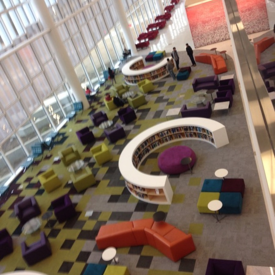 Miranda Johnson's photo of Experience the Hunt Library at NC State
