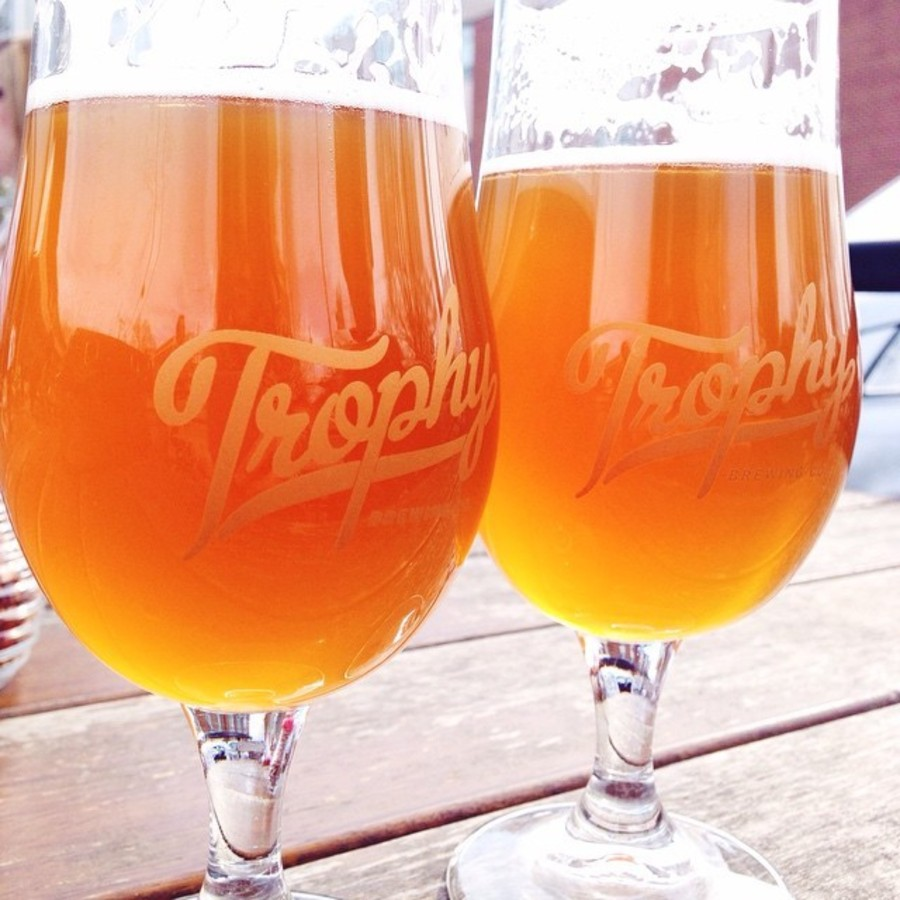 Sip on Tasty Beer at Trophy Trophy Brewing