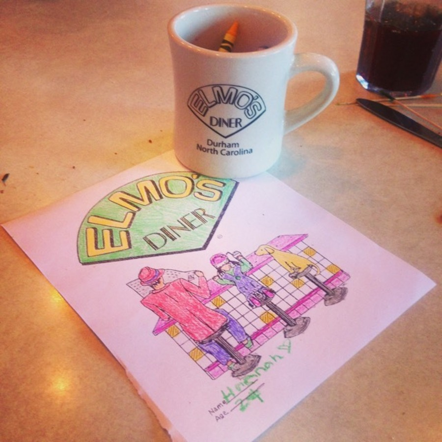Hannah Leigh's photo of Grab Good Eats at Elmo's Diner