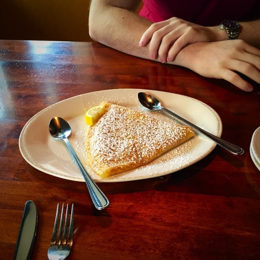 Whitney Hill's photo of Get Your Fix at the Crepe Cellar